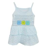 free shipping 2013 summer baby child 100% cotton tank dress one-piece dress princess dress spaghetti strap layered dress