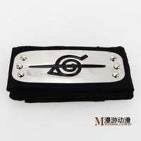 Free shipping Japanese Anime Naruto cosplay Uchiha Itachi Ninja Headband Bandeau Black, Dropshipping
