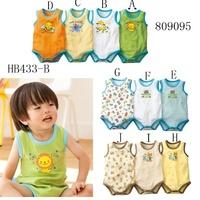 free shipping 100% baby cotton sleeveless romper bodysuit vest triangle climbing 16 unisex