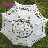 5pcs/lot Wedding Party Decoration Small Lace Parasol Baby Shower decoration Lace Umbrella
