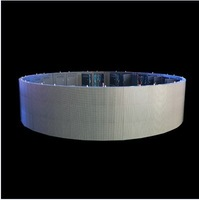 2013 latest indoor and outdoor curve led display, flexible led display, P12.5mm, p20mm, p10mm, p10.42mm,p15.625mm led curtain,