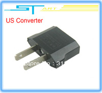 Free shipping 10Pcs/lot US AC Power Plug Travel Converter Adapter  forhelicopter boat airplane car