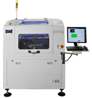 The Cm series fully automatic solder paste screen printer Tesla-Cm-1 SMT machine