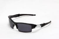 Wholesale Flak Jacket Sunglass 5824 Black Frame Black Lens top quality  26 different styles