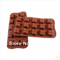 Free Shipiing 100PC DIY Mould cookies mold Silicone Chocolate Mold /Cake Mold/Cookie Mould biscuit mould -Windmill 15 ice tray