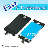Wholesale OEM For apple iPhone 4S LCD With Digitizer Touch Screen Assembly+Touch Screen Digitizer Glass for iphone4S