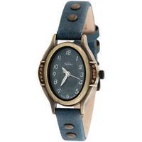 New Ladies Quartz Watch Retro Female Clock Elegant Women Wrist Watches Famous Korea JULIUS Brand Oval Dial Rivet Leather Strap