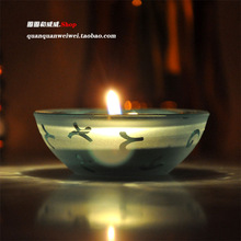 glass bowl candle price