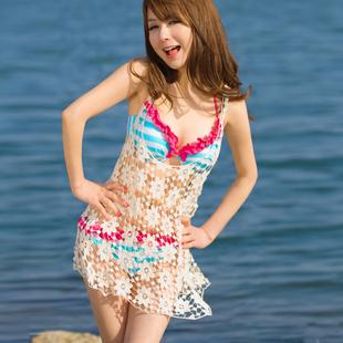 beach-dress-women-hollow-cutout-lace-flower-shirt-crotch-vest-cheap