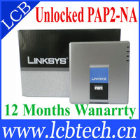 Brand New Factory Unlocked Linksys PAP2-NA SIP VOIP Phone Adapter with 2 FXS phone As same As PAP2T with FAX fuction