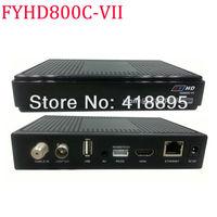 1 PCS free FEDEX to Singapoer FYHD-800C-VII EPG with Key Pre-installed black FYHD 800,FYHDC-800-IV Version upgrades 2.0