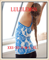 2014 newest New Arrival Lululemon Brand Women's Yoga Tank Fashion Vest Tops Sport Wear Size 2#--12# Free Shipping