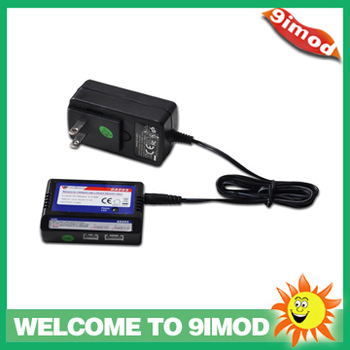 Walkera GA005 HM-05#4-Z-23 Balanced Charger for 3.7V / 7.4V / 11.1V Li-ion/Li-Po Battery - Black