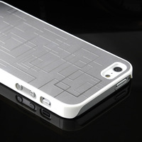 For iphone  5 phone case male personality  for apple   5 phone case metal silver