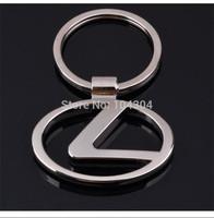 Lexus car emblems Keychain Lexus  Keyrings Lexus  Key Chain Ring Key Fob car keychain car key rings  car key ring free shipping