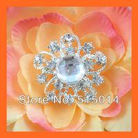 Free Shipping!100pcs 32mm Crystal Rhinestone Cluster,Wedding  Embellishment ,Rhinestone Brooch