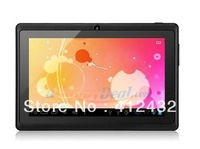 "Cheap Tablet PC A13 Q88 7"" AllWinner android 4.0 1.2GHz 512M DDR Camera 4GB Capacitive Screen 7 inch tablet PC+touch pen"