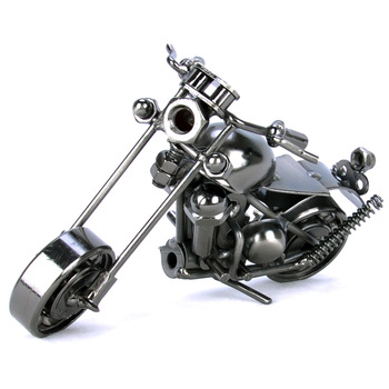 Toy motorcycle iron crafts model exquisite fashion personality gift decoration male