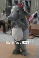 Professional New Elephant Mascot Costume Cartoon Suit
