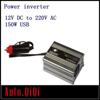Car Inverter USB DC 12V to AC 220V Power Inverter Adapter 150W 150 Watt