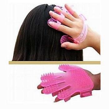 hot Shampoo massage brush pore cleaner massage hair brush scalp massage brush health comb 9862