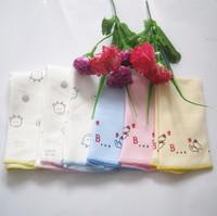 Free Shipping Baby towel 100% cotton handkerchief baby bib feeding towel