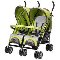 6 wheels Twins baby stroller, twin strollers, double strollers,confirm to EN,high quality,Aluminum Alloy frame,600D Oxford.