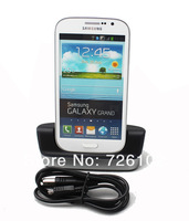 High Quality 2 in 1 Charger Hotsync Dock Cradle For Samsung Galaxy Grand DUOS i9082 Free Shipping