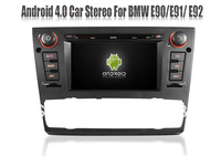 Android 4.0 Car PC Car DVD Player for BMW 3 Series E90 E91 E92 325i/330i/335i with RDS GPS Navigation Stereo Radio Audio TV WIFI