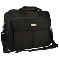 "Black 17"" 17.3"" 17.4"" Notebook Laptop Shoulder Bag messenger bag Carrying Case Handle free shipping"
