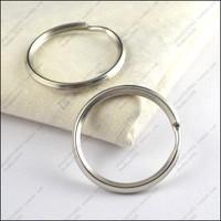 Diy accessories 35mm trigonometric keychain key ring key ring Large 100pcs/lot