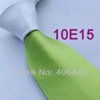 Coachella Men's ties White Knot Contrast White/Apple Green Tie Two Tone Woven Necktie Formal Neck tie for dress shirts Wedding