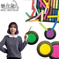 Wire powder disposable stick hair dye gradient hair dye stick haircolouring pen haircolouring crayon