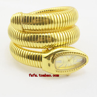 Free shipping new serpentine fashion watches personalized Ladies Watch Ladies Watch Gold silver white yellow