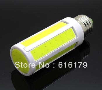 COB led corn light 9W,e27 led bulb,Warm White 220V  Free Shipping DHL