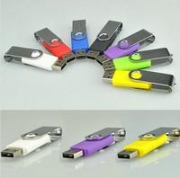 Express Free shipping!Custom LOGO Swivel  USB Flash Drive,USB Flash Memory,Promotional Gift Pen Drive,2GB 4GB 8GB 16GB 32GB