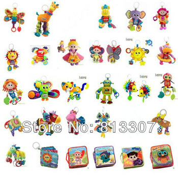 Free Dropship Retail Lamaze Toys 42 Styles Baby toy lamaze plush Animals toys early development 10pcs/ lot