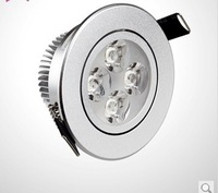 High power CREE 4x3w 12W 85-265V Dimmable Light lamp Bulb LED Downlight Led Bulb Warm/Pure/Cool White