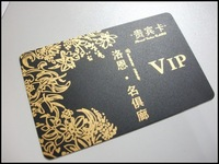 Custom pvc business cards printed both sides new fashion 500pcs/lot