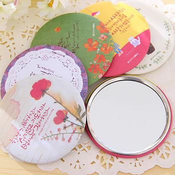 Min.order is $10(mix order )free shipping!Sweet Portable Makeup Mirror Pocket Mirror Travel Princess