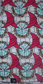 Free Shipping!2013 New design 100% cotton african fabric super wax ankara fabric, S609, 6yards/piece,ankara wax fabric