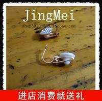 Cushion rose gold trigonometric invisible ear clip no pierced stud earring diy accessories