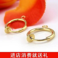 15 gold invisible ear clip invisible ear clip type earrings diy accessories