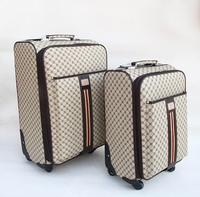 Fashion travel bag universal wheels trolley luggage female 20 24 suitcase portable luggage password box
