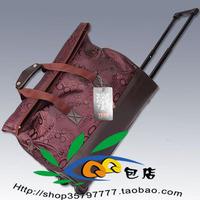 Yeso letter handbag plus size trolley luggage trolley bag travel bag travel bag