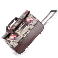 Portable travel bag trolley bag luggage bag hot-selling barrels small fresh