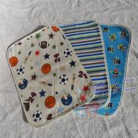Baby changing mat newborn baby supplies bamboo fibre oversized 100% cotton waterproof mattress pad