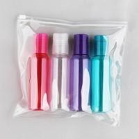 4 X 100ml Cosmetic PET Bottle Travel Bottle Set Lotion Bottle