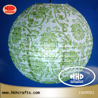 """30cm 12""""  home ceiling hanging  decoration round paper lamp shade"""