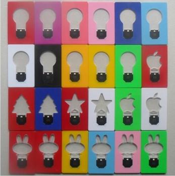 2013 New Arrival Mini LED Credit Card Light Cerative Card lamp Pocket LED Light Novelty Lighting  APPLE  led light